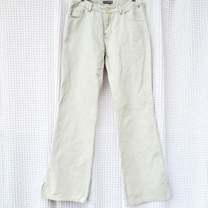 Roxy linen cotton blend pants light green Size 5